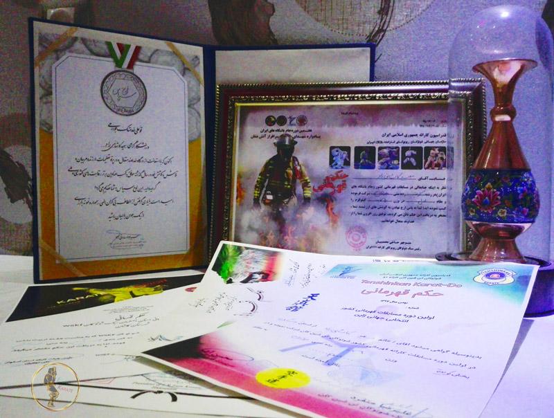 قهرمان کاراته سعید کاشانی