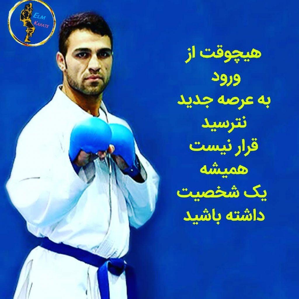 بیوگرافی ذبیح الله پورشیب کاراته