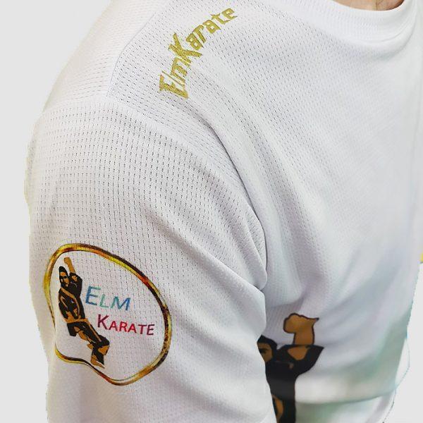 تیشرت کاراته سرشونه دار