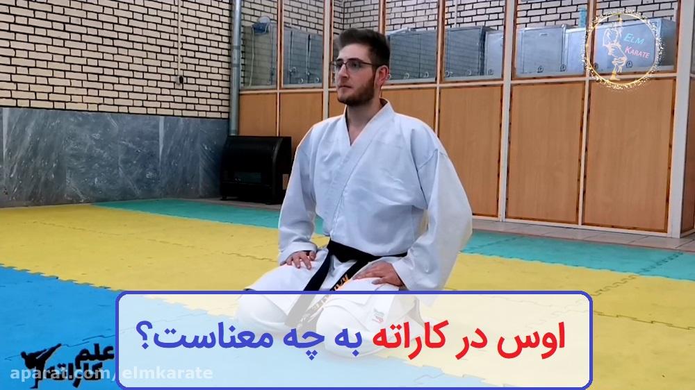 اوس در کاراته یعنی چه؟